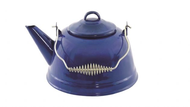 Easy Camp Blue ENAMEL KETTLE, Camping & Outdoor Leisure Accessories - Grasshopper Leisure